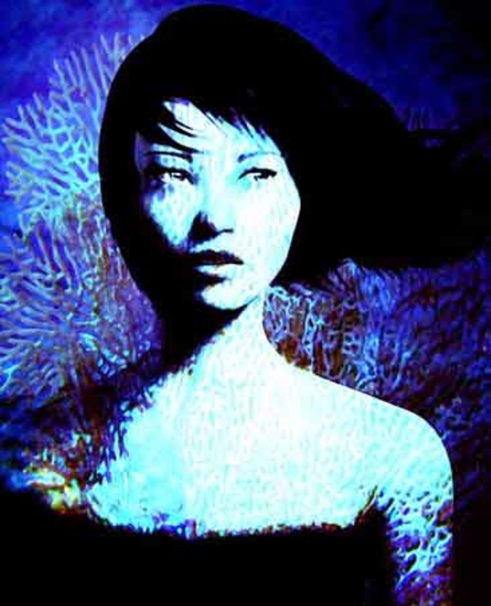 Sea Maiden - Digital Art RE Kongaika