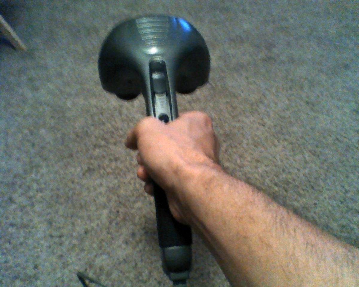 I use a back-massager for damn near everything but my back.