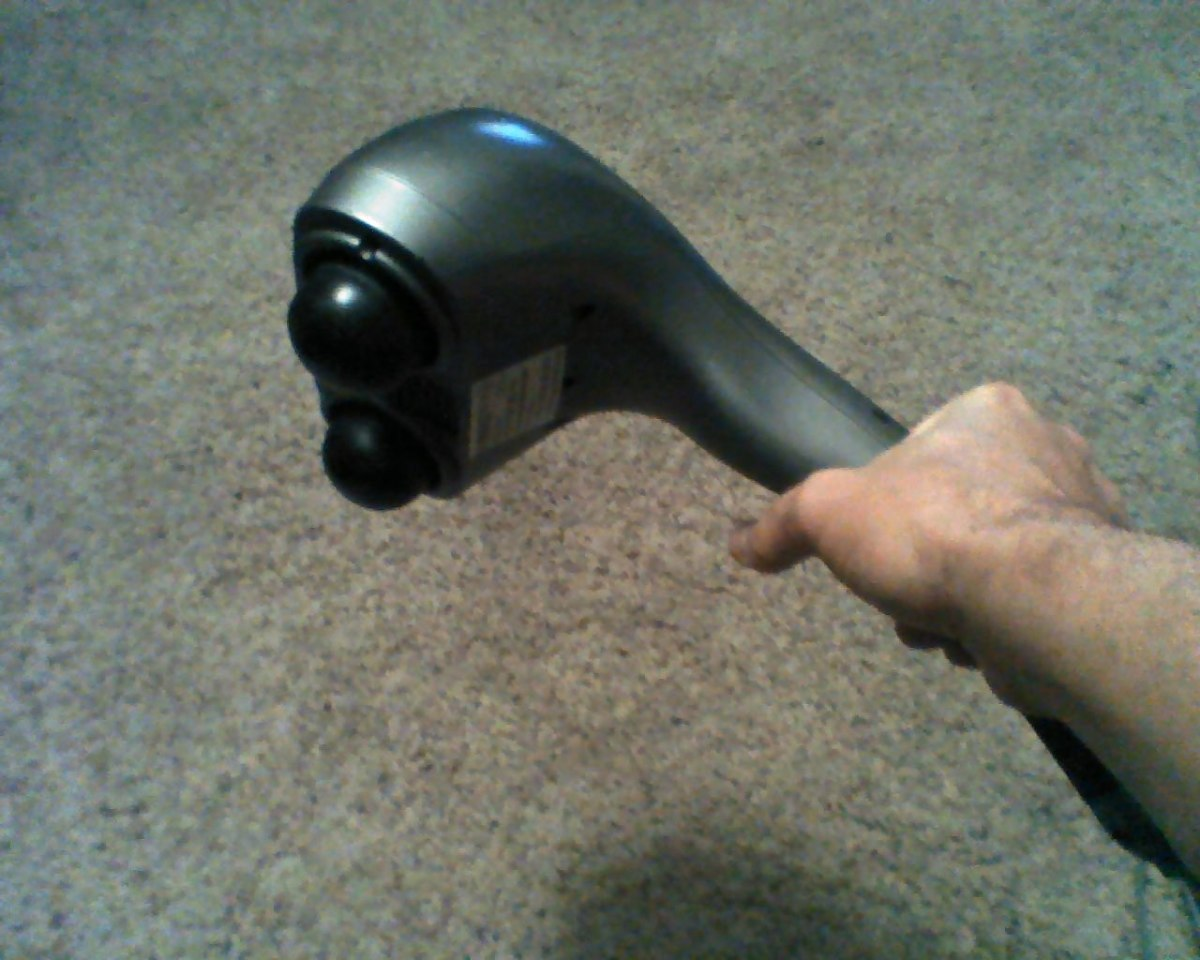 I use a Homedics brand electric massager works well, they make a quality product.