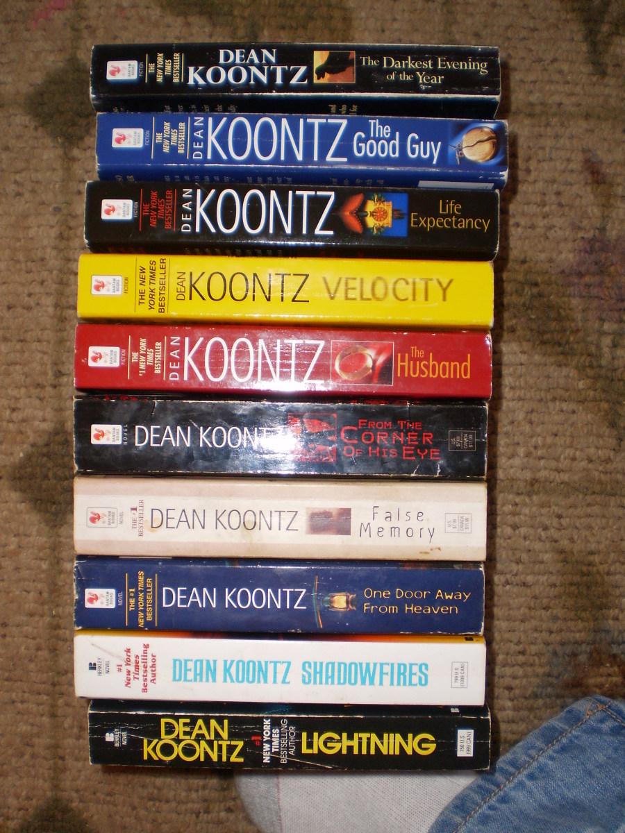 Books of my top ten.