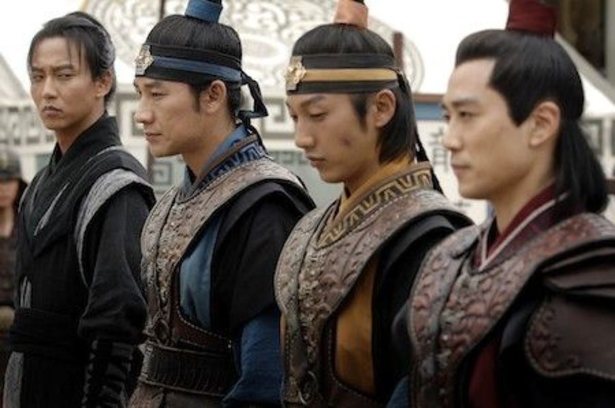 Some of Hwarang Captains