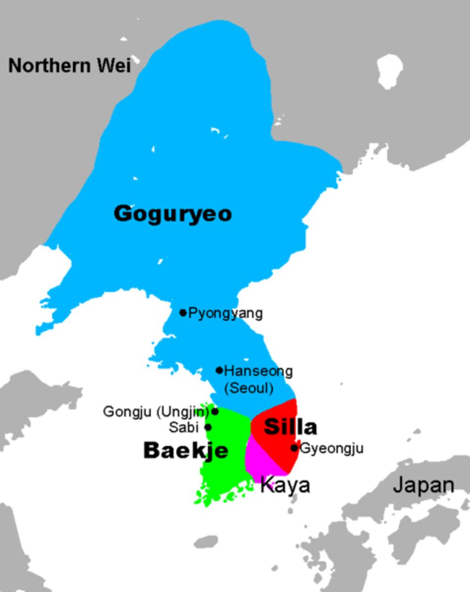 The Ancient Korean Map