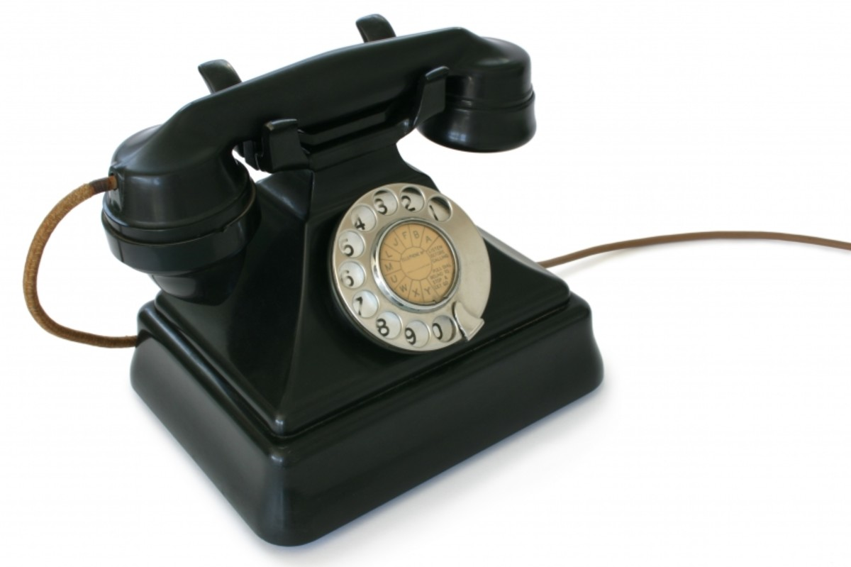 A Traditional Telephone
