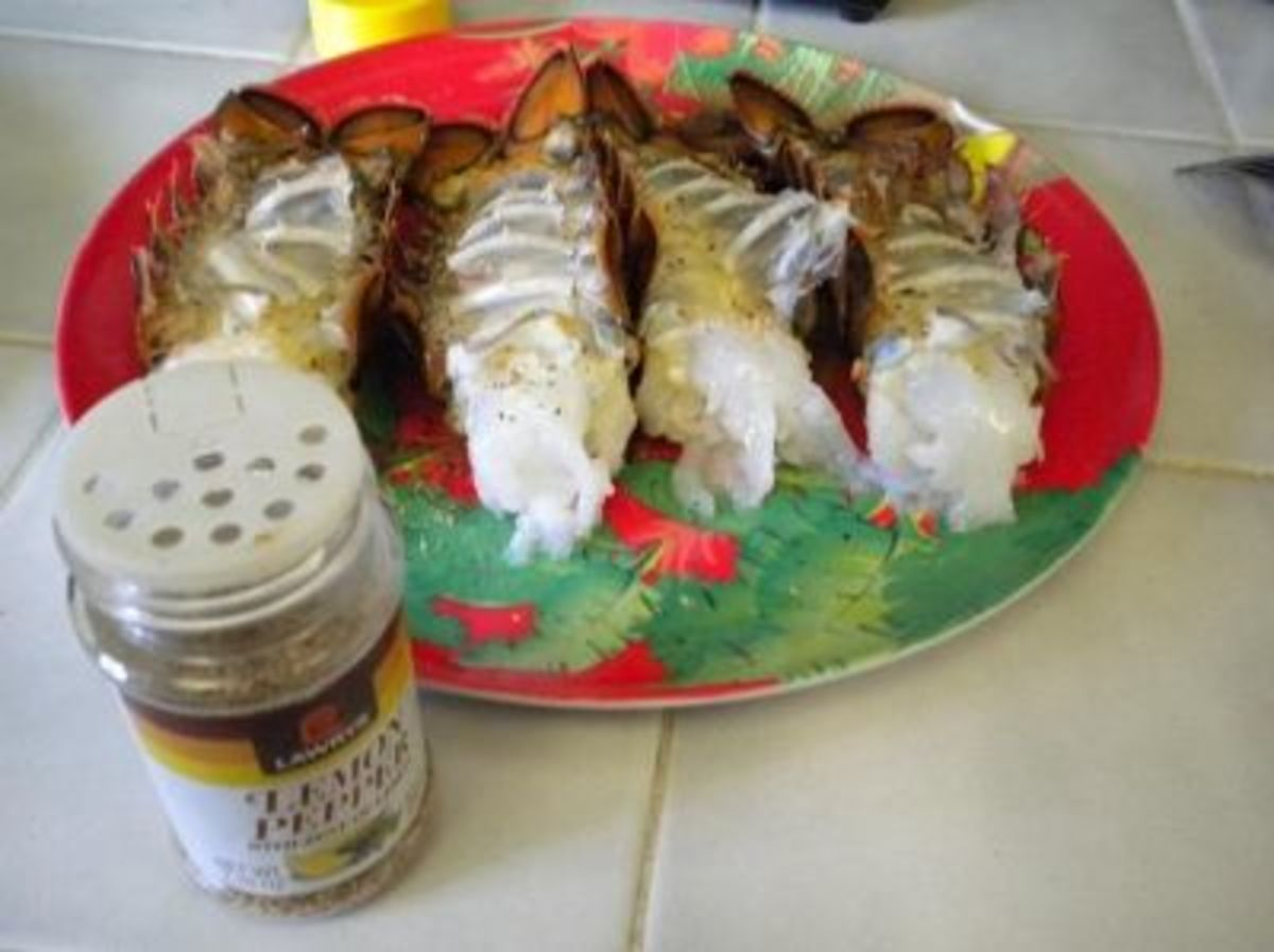 I Prefer a Little Lemon Pepper on My Lobster Tails