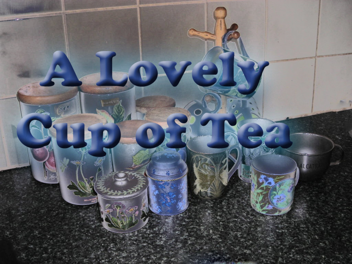 A Lovely Cup of Tea - Poetry, Art and Bone China