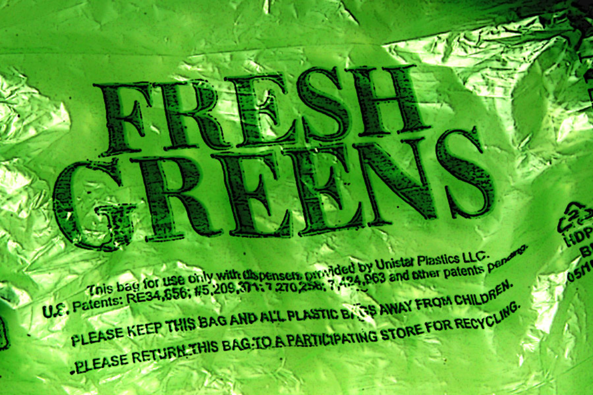 Green Bags help keep produce fresh longer!