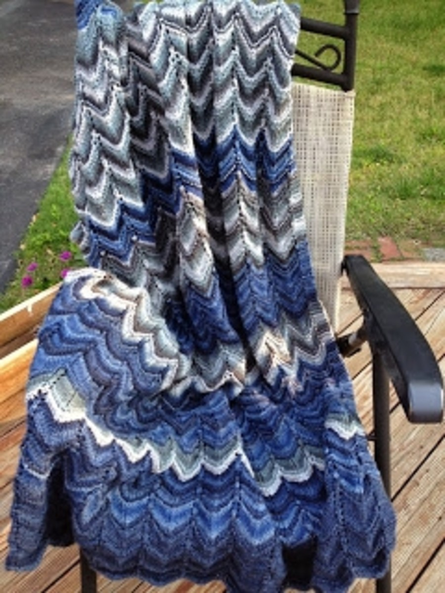 Someone will love this afghan especially if it is handmade by you.  This is one of the great patterns on craftown