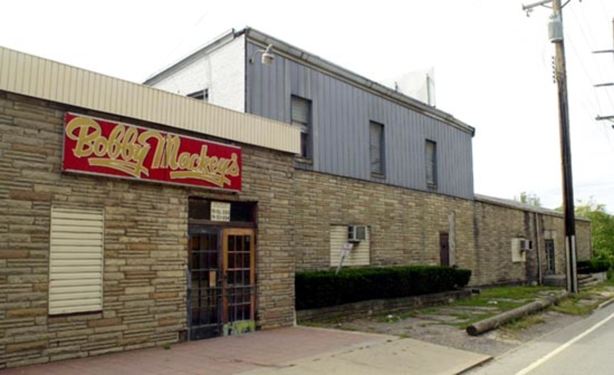 Notoriously Haunted: The outside building of Bobby Mackey's Music World.