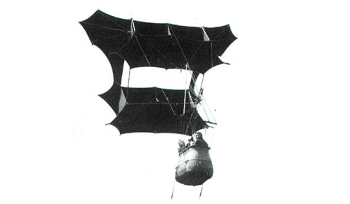 Person carrying, Cody kite.