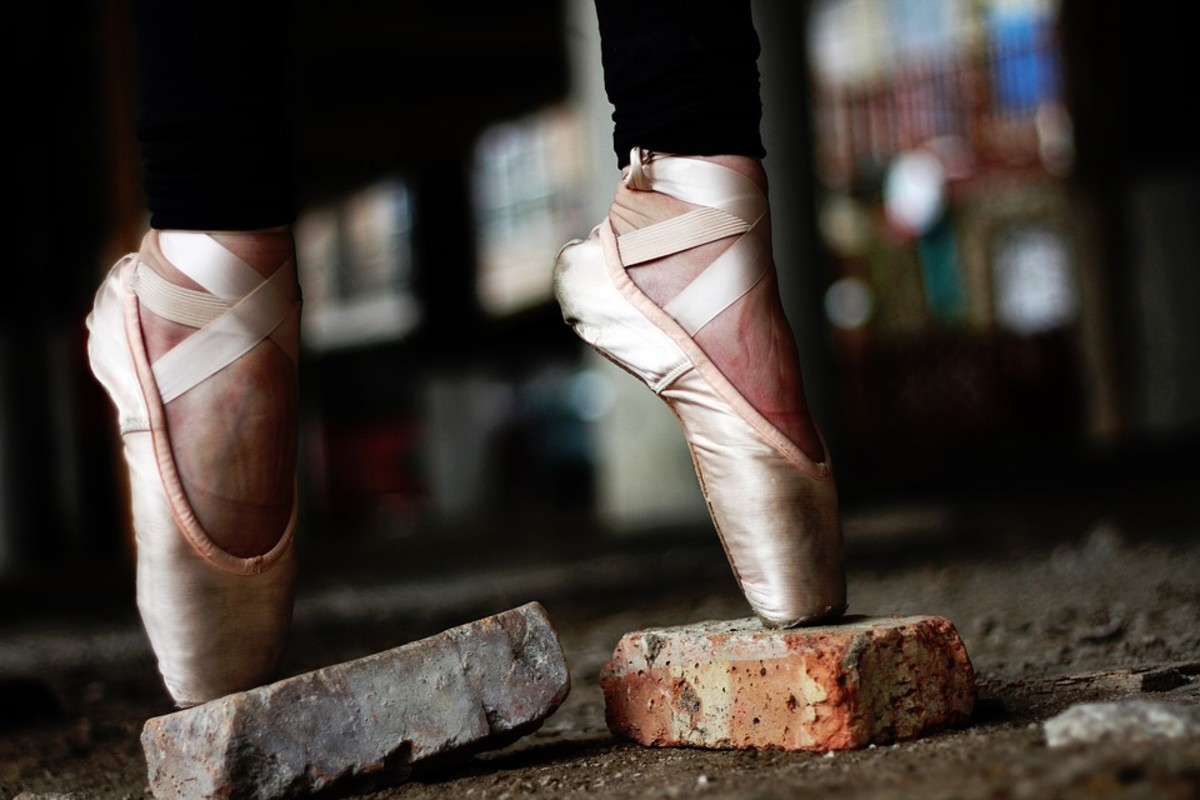 While pointe shoes that are properly fitted can provide amazing support and balance, worn pointe shoes can be dangerous and should be replaced immediately.