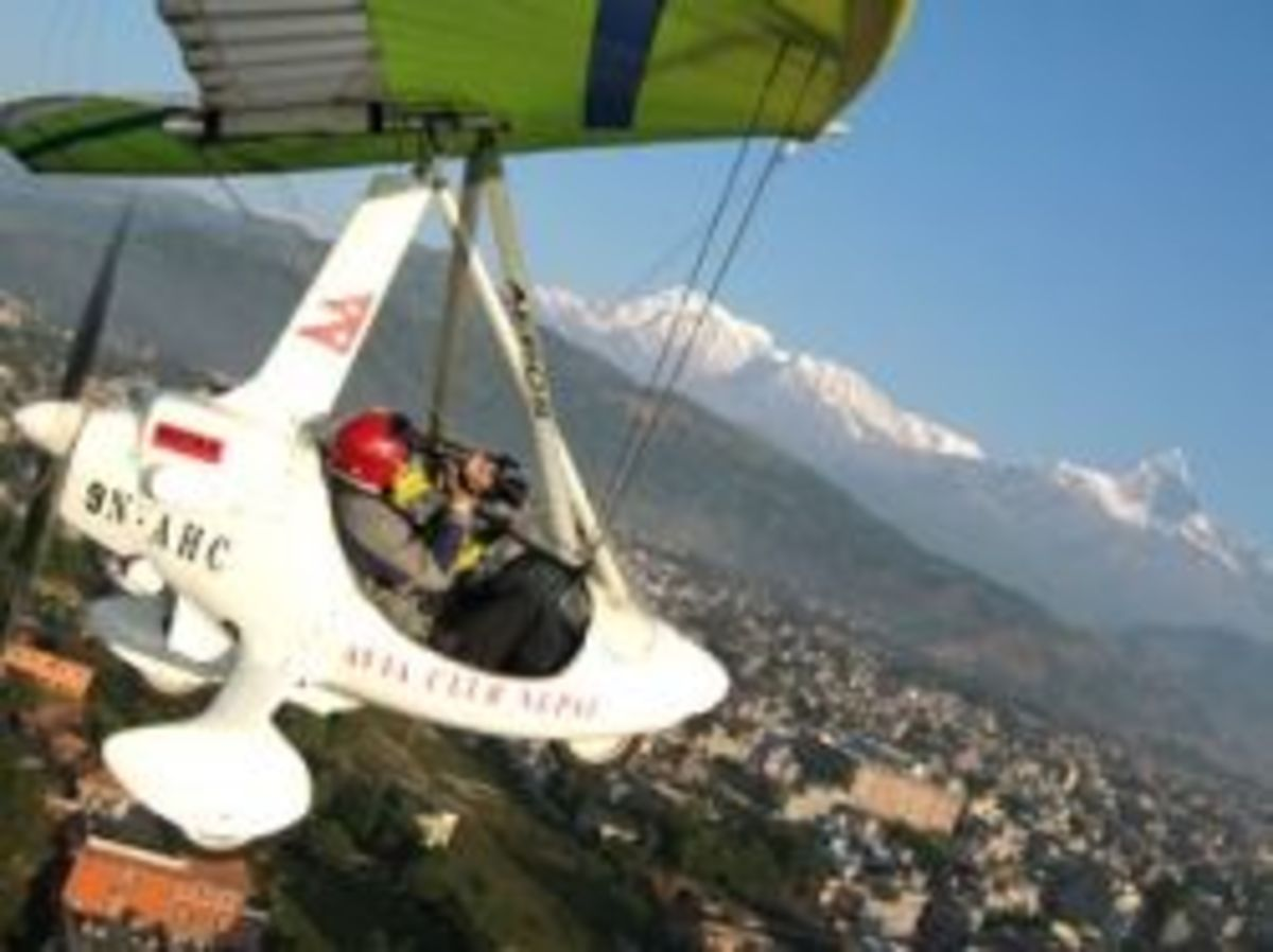 Ultralight or Microlight Aircraft