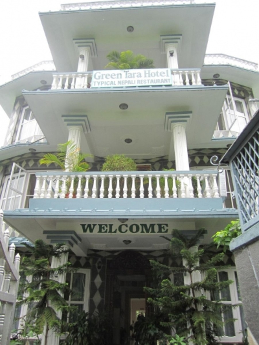 The Green Tara Hotel  is VERY affordable, clean, comfortable, and serves very good food.