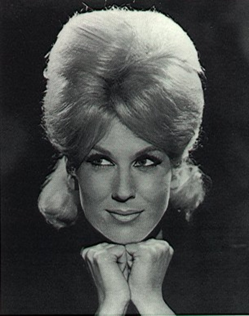 Variations on a theme...Dusty Springfield lets some hair out of the hive