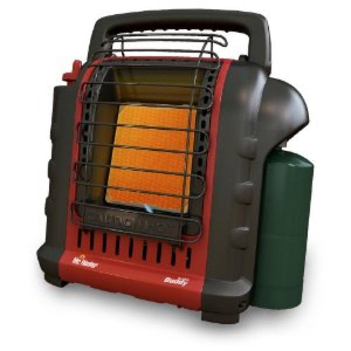Mr. Heater F232000 MH9BX Buddy 4,000-9,000-BTU Indoor-Safe Portable Radiant Heater