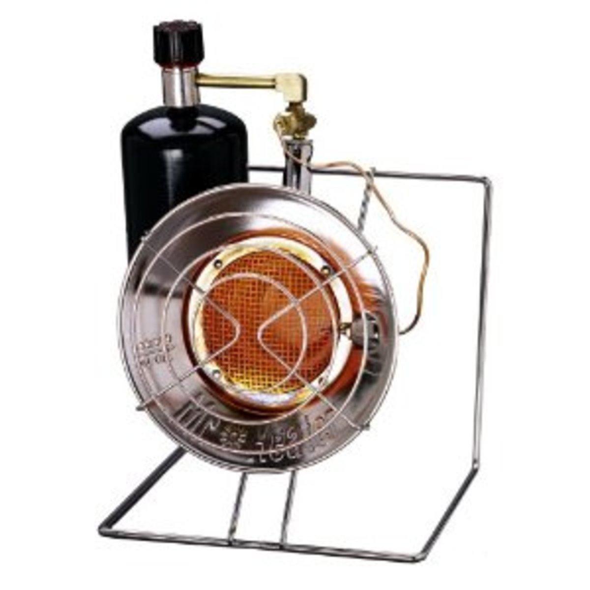 Mr. Heater MH12CS 8,000- to 14,000-BTU Propane Radiant HeaterCooker