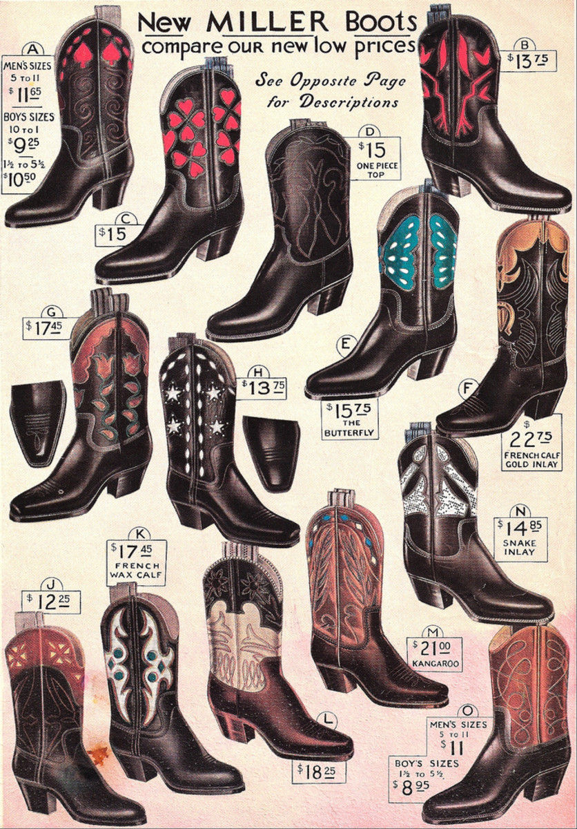Old Fashioned Cowboy Spurs