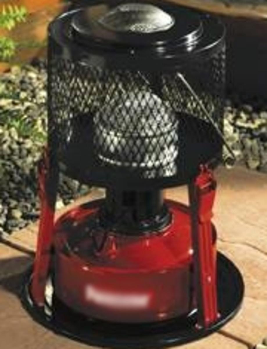 paraffin oil heater