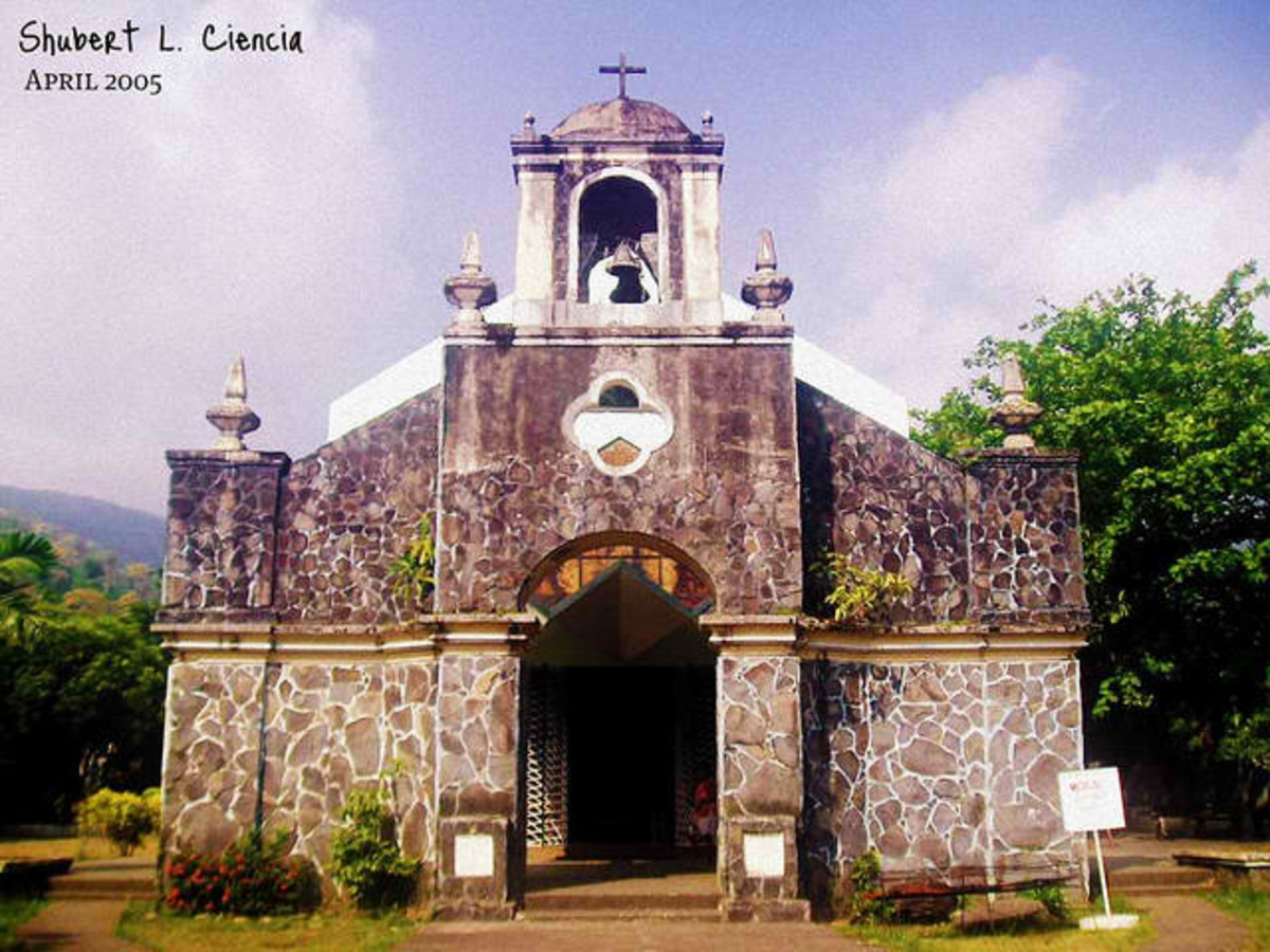 Old church in Tiwi, Albay (Photo courtesy of http://flickr.com/)