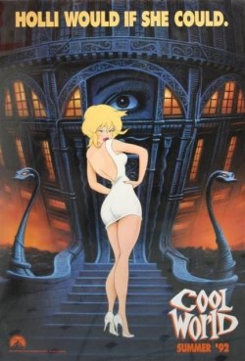 Holli Would - Cool World Poster
