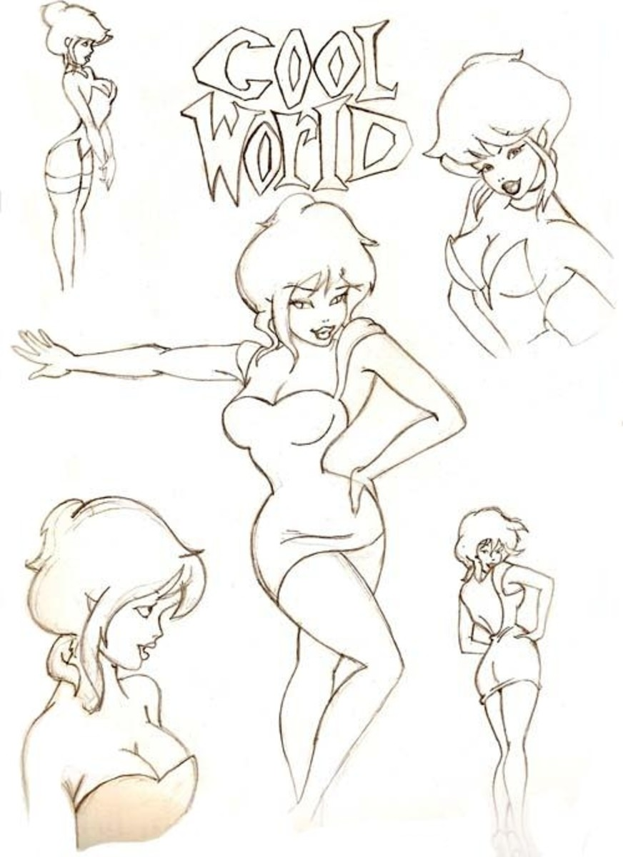 Sketches of Holli Would by al305sr on DeviantART