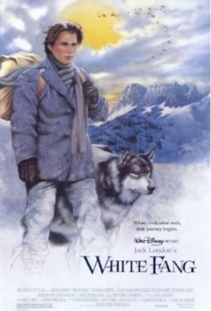 Jed and Ethan Hawke in White Fang