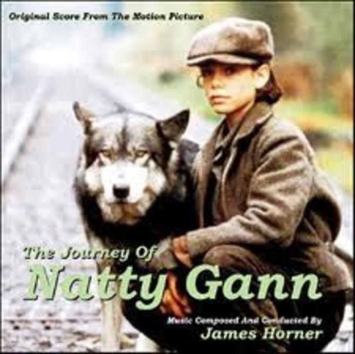 Jed & Natty (Meredith Salenger) in The Journey of Natty Gann