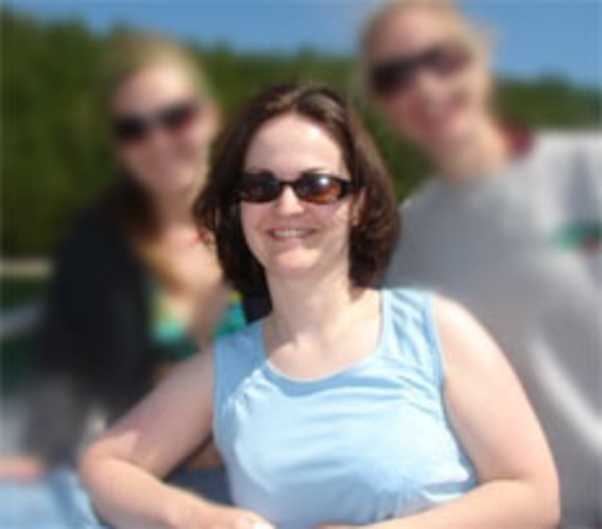 This picture of me was taken in July 2009 near the peak of my chunkiness.