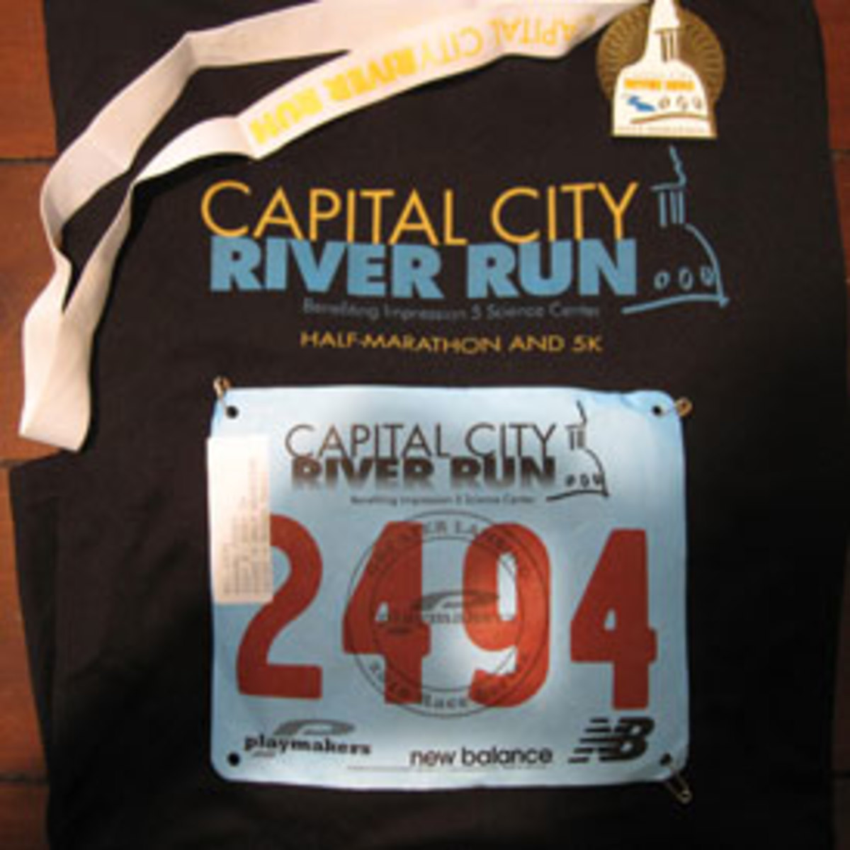 My first bib.