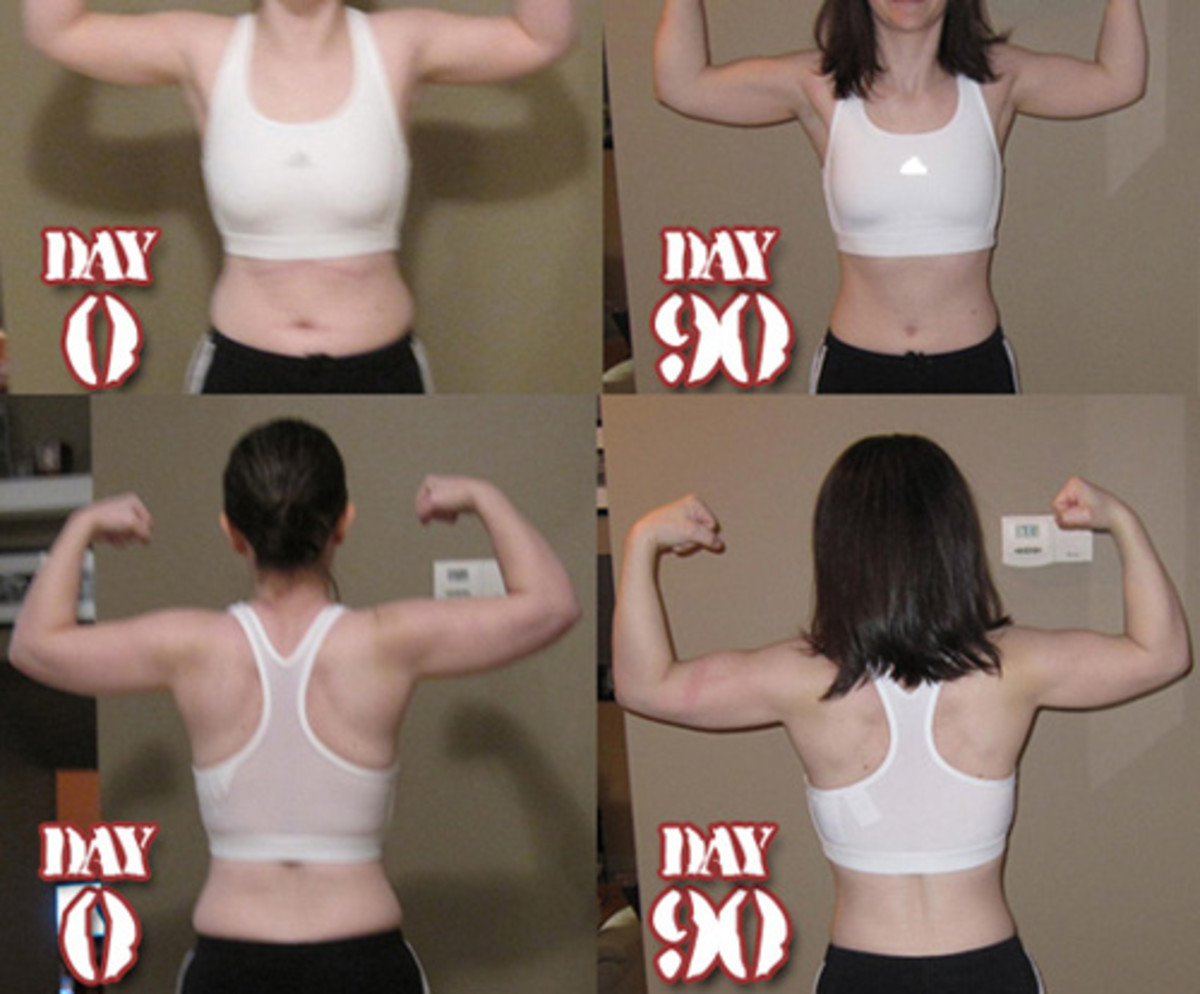 After seeing my before and after photos I knew right away that I wanted to do another 90 days.