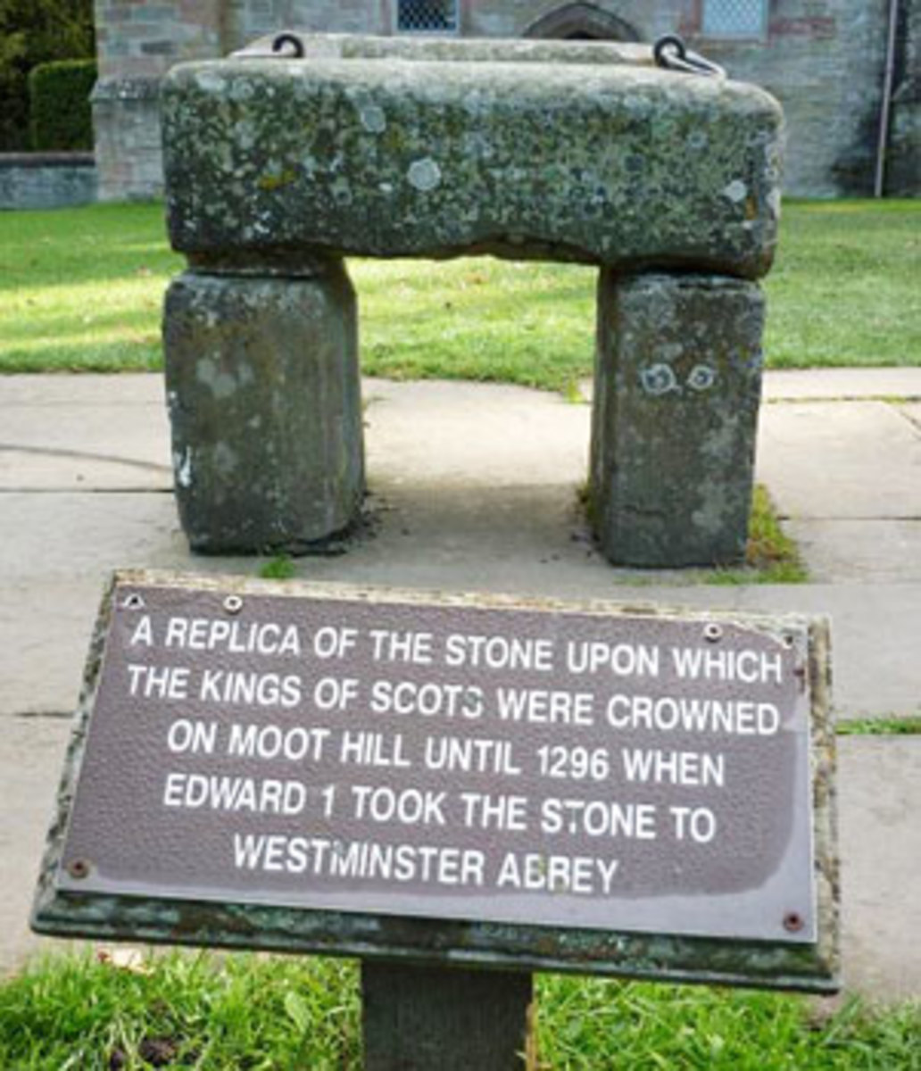 Copy of the Stone of Scone