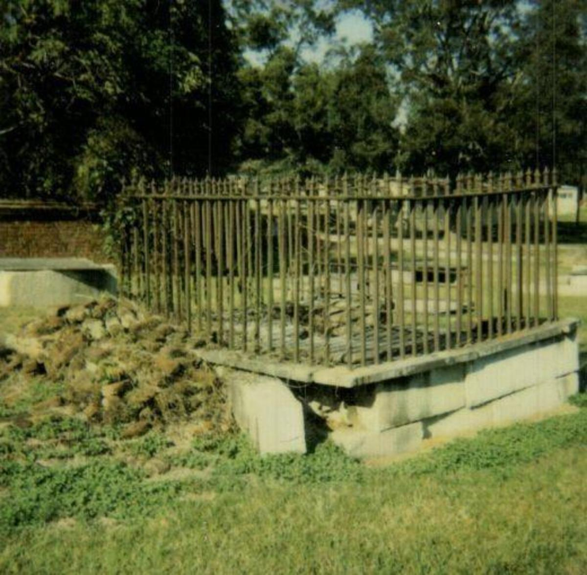 The Graveyard on Boundary Street in Newberry South Carolina is one of the spookiest places on earth.