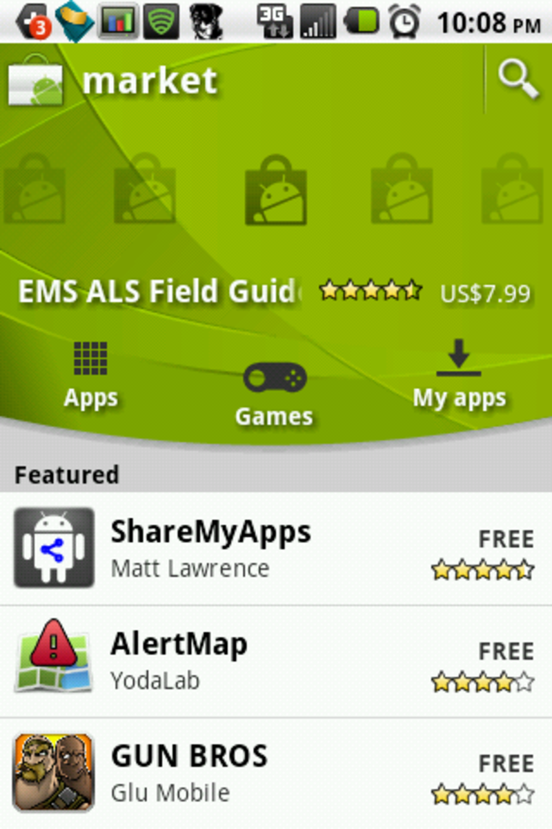 10 Best Free Starter Apps for any Android Phone - Samsung Intercept, LG Optimus V, Droid X