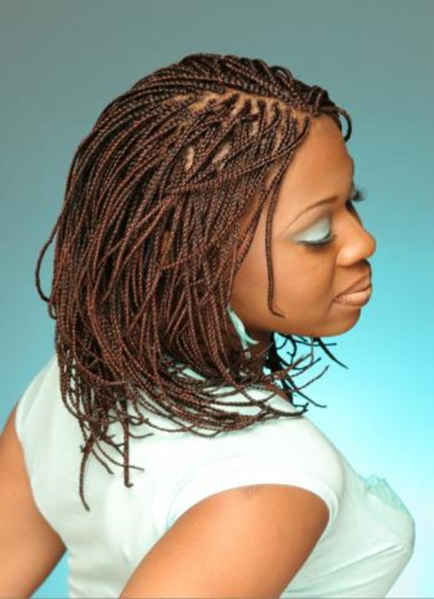 African Braids Hairstyle