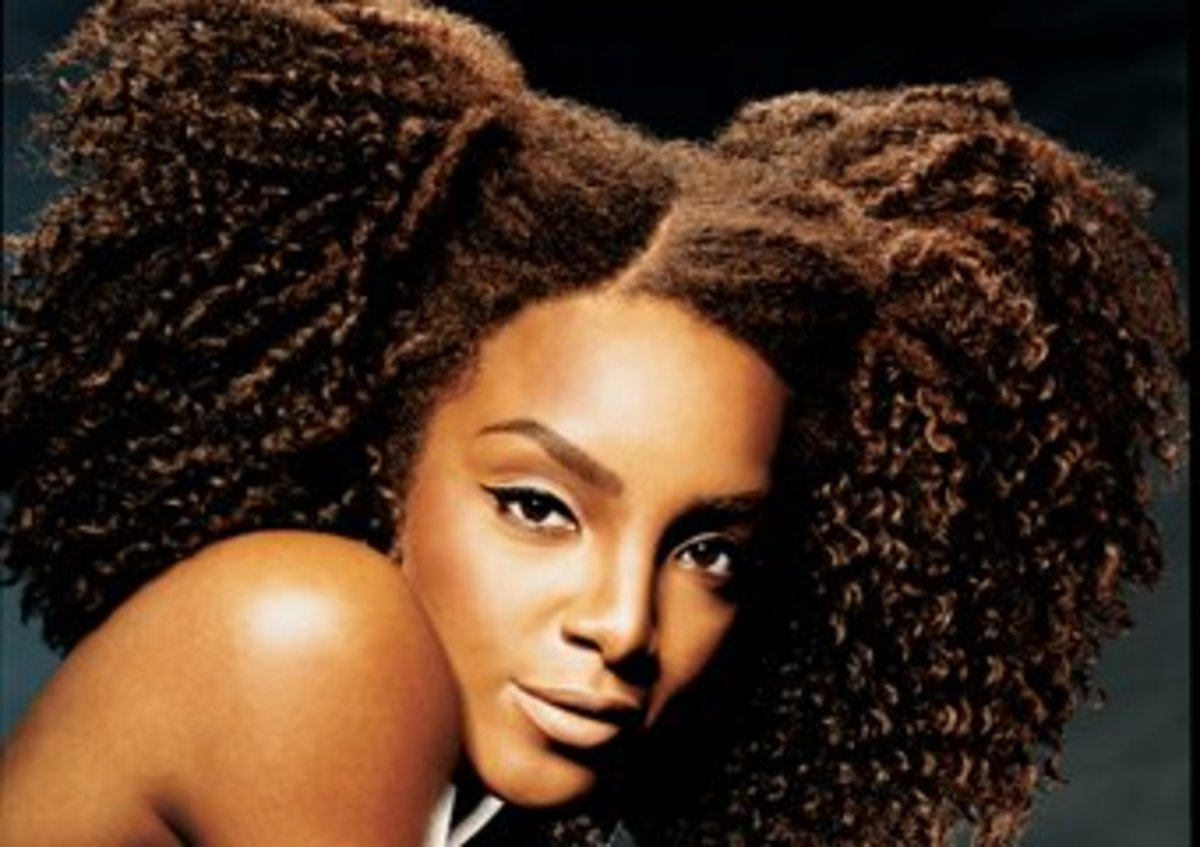 Afro  Puff Hairstyle - Party Hairstyle for Black Women