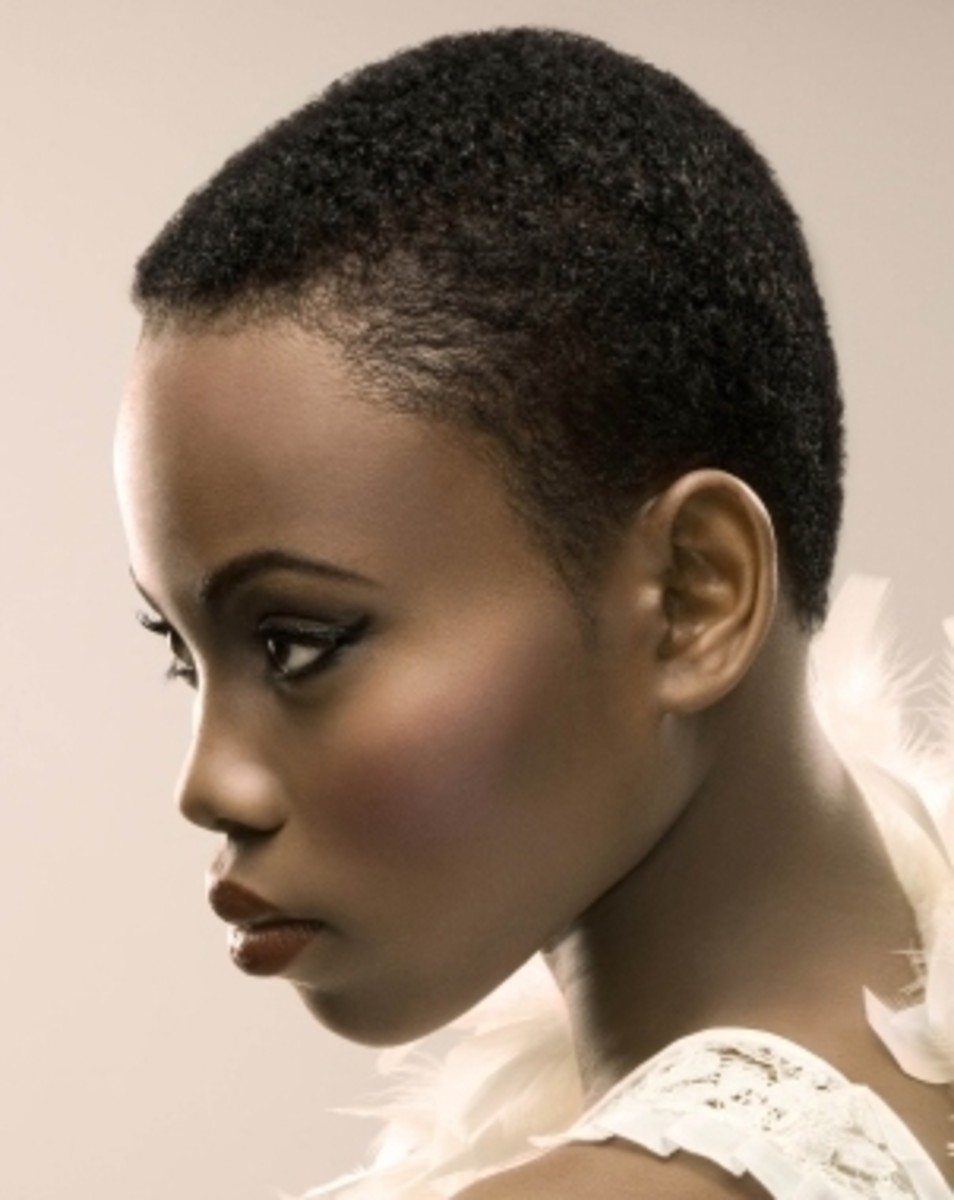 Buzz Haircut for Black Women