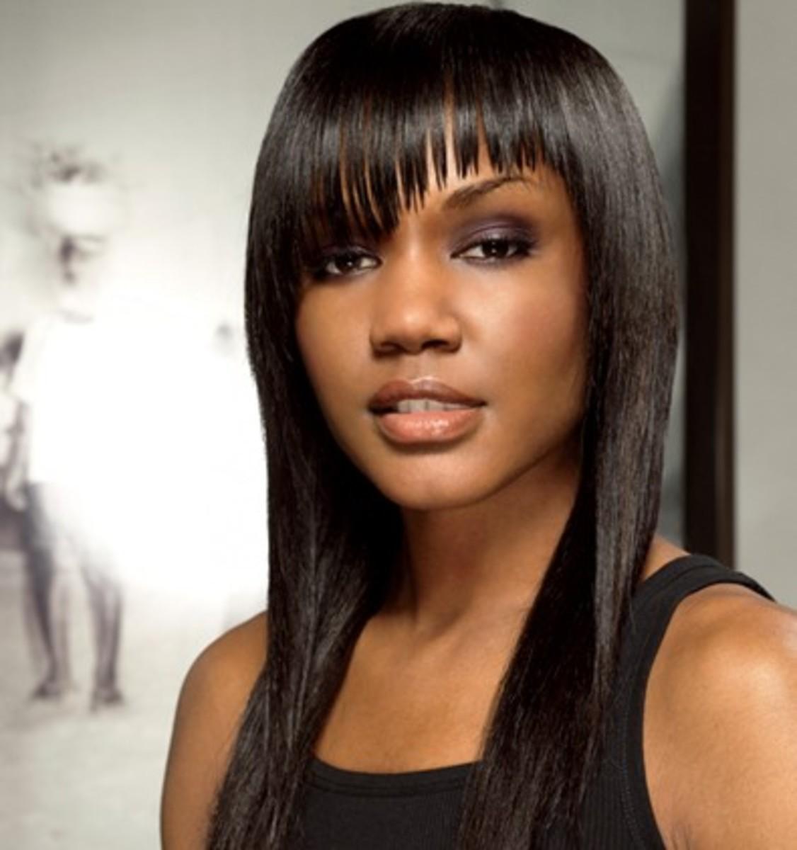 Black Women Long Hairstyle