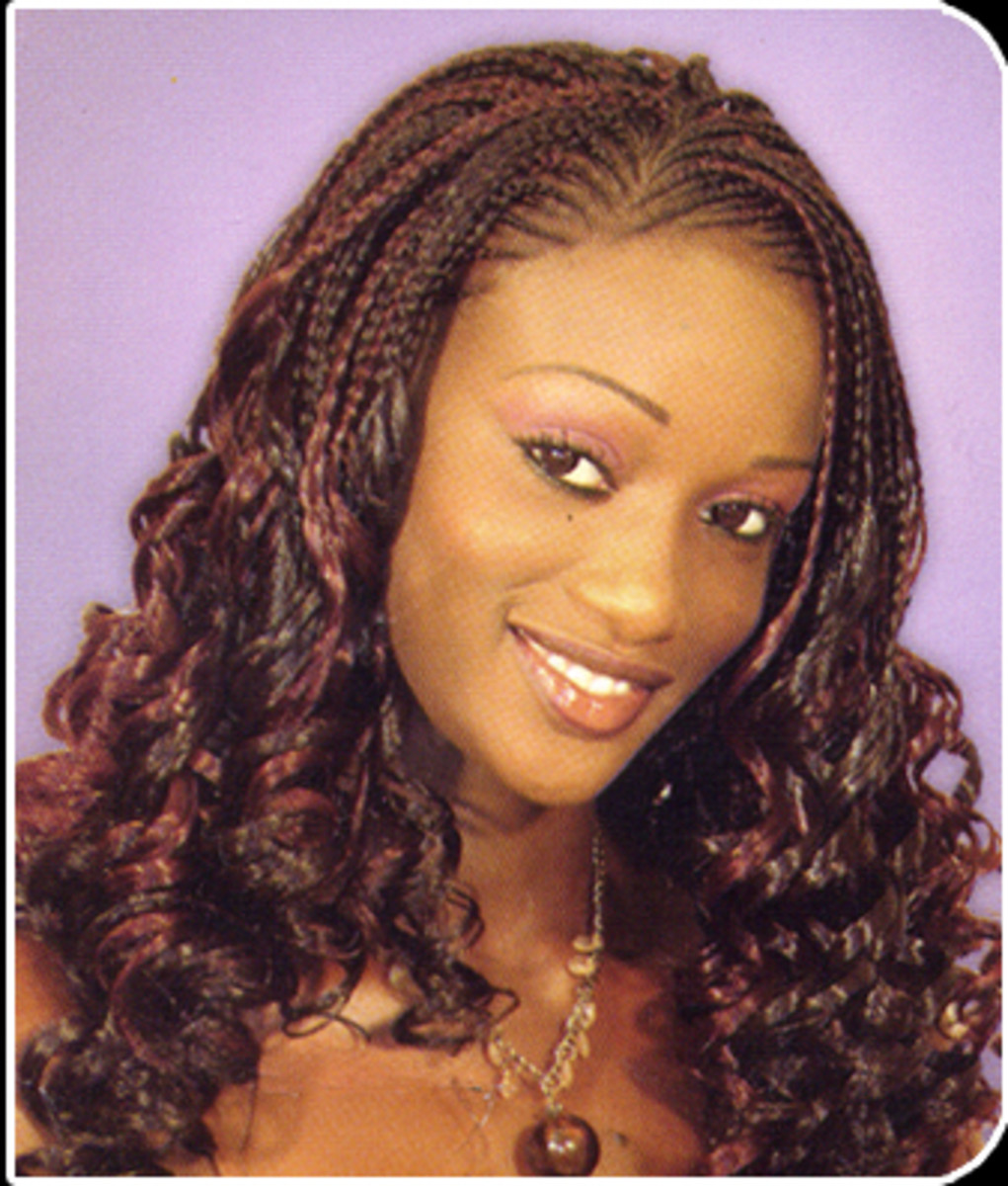 Beautiful Braids Hairstyle for Black Women