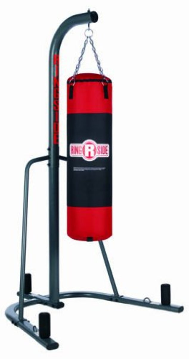 Ringside Heavy Bag Stand With Weight Pegs