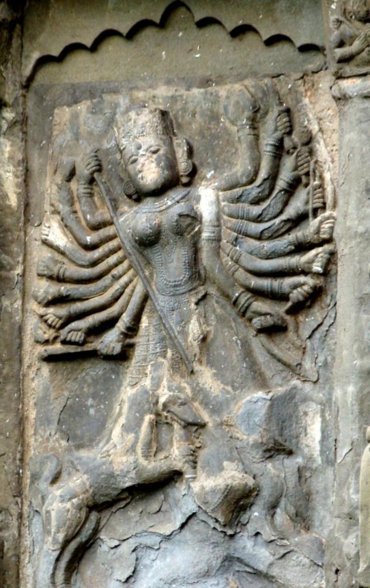 Sixteen-armed Mother Goddess