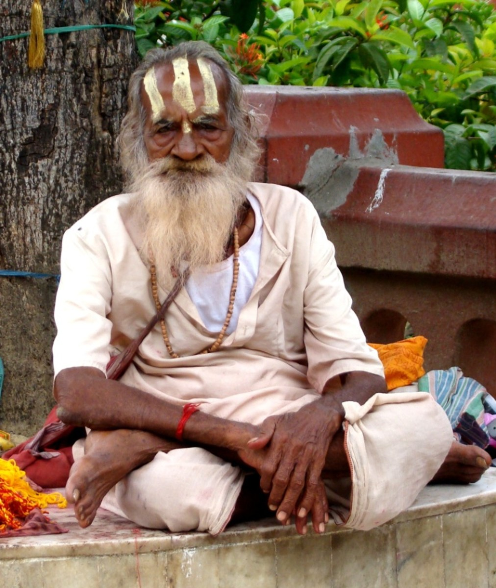 A Sadhu at Shiva Dol