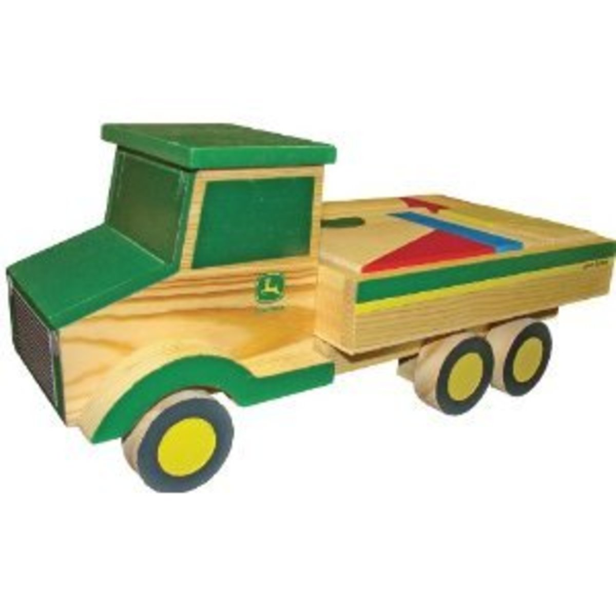 John Deere Wooden Truck