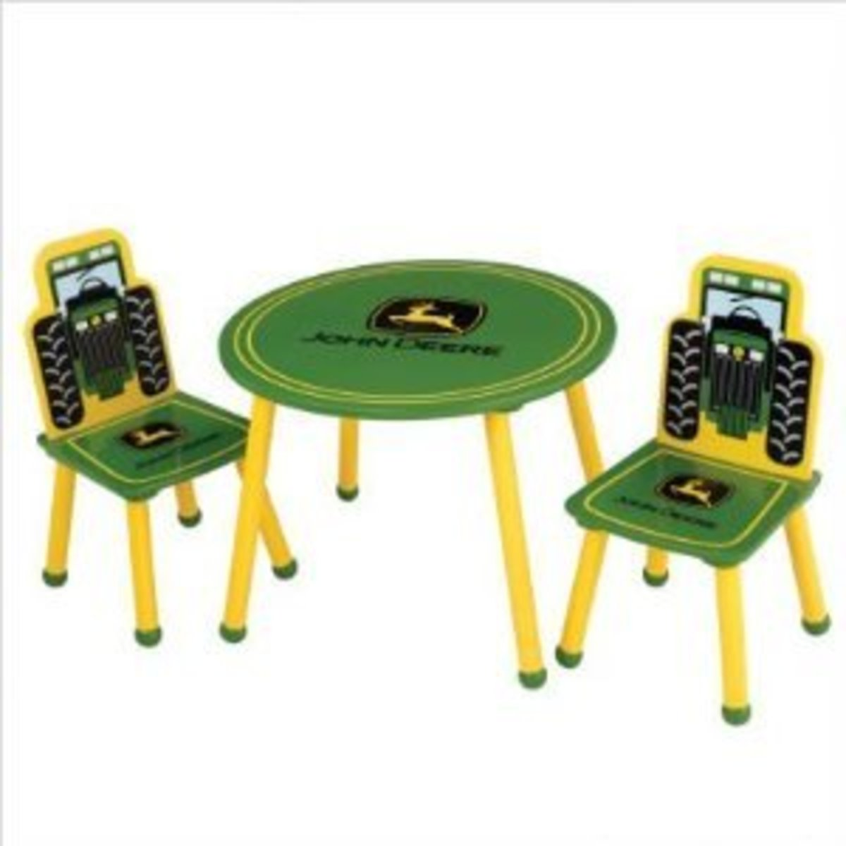 John Deere Table and Chairs
