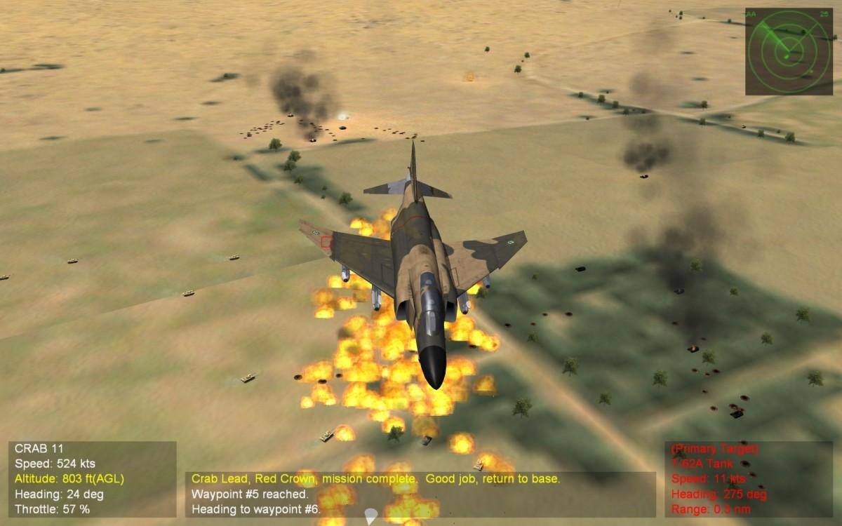 Cluster bomb Boom