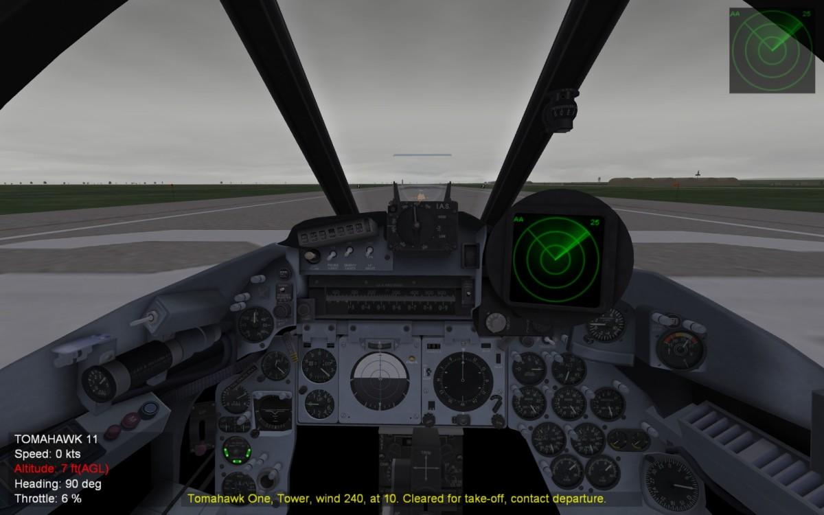 Lightning Cockpit