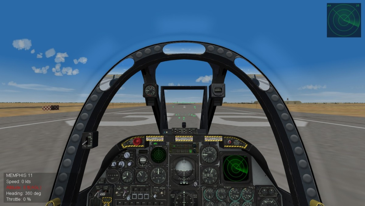 Cockpits are fully functional and Hi-Res