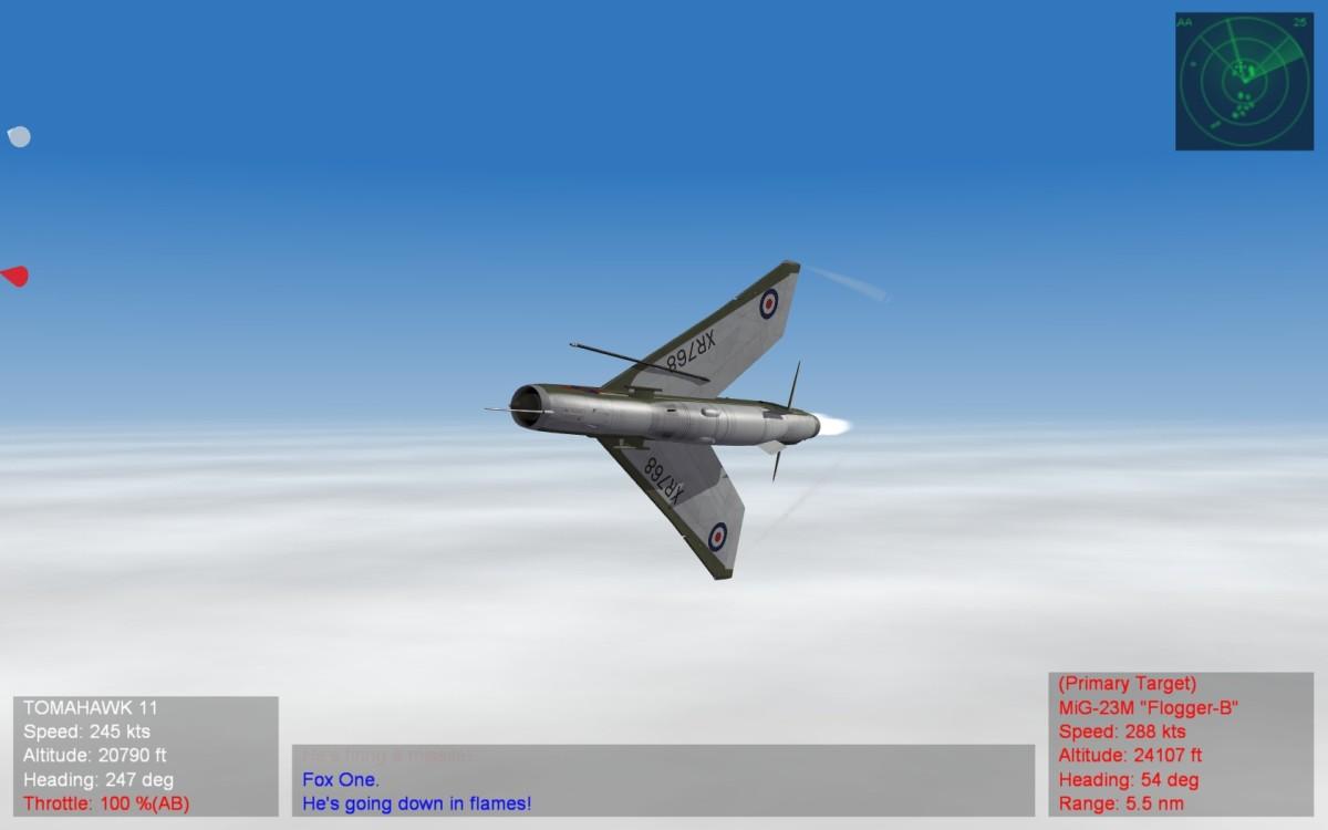 Nice to see a flyable Lightning!