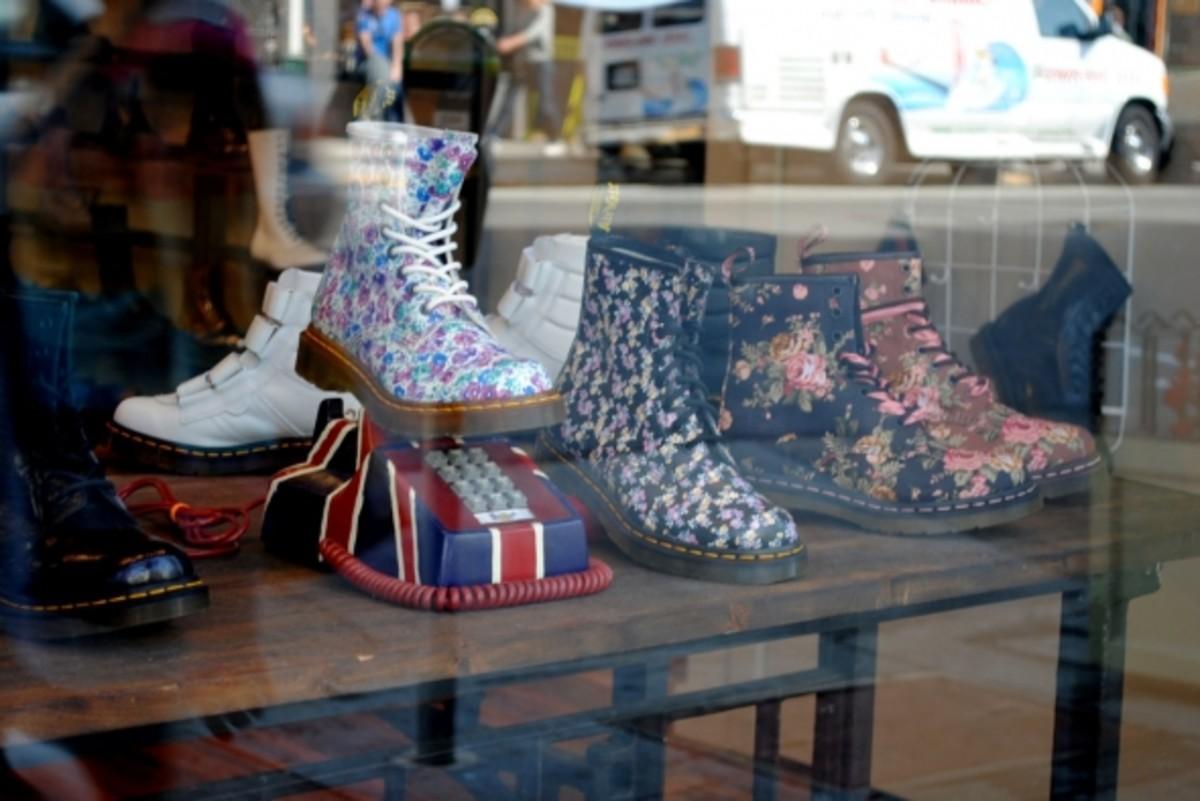 Dr. Martens Floral Print Boots