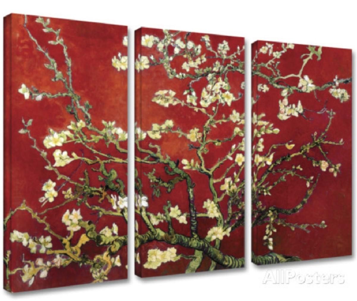 Variación de los flores de Apple de Vincent Van Gogh