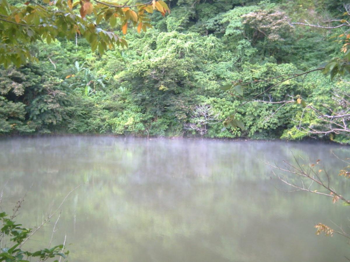 Nag-aso (Smoking) Boiling Lake @ Barangay Hulogan, Manito, Albay (IAA)