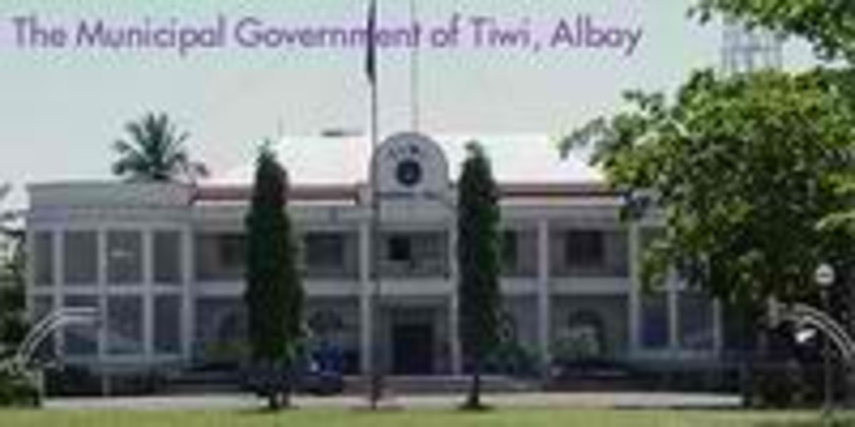 Municipality of Tiwi, Albay (Photo courtesy of http://gobicol.com/)